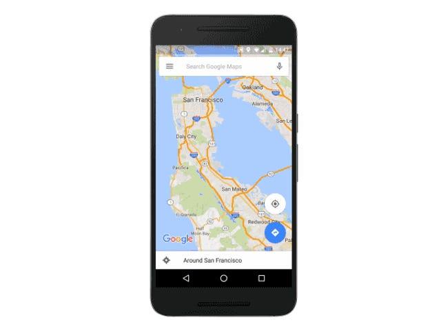 Chế độ Ngoại tuyến của Google Maps nhận được Danh mục chính, Tìm kiếm Đích, và hơn thế nữa