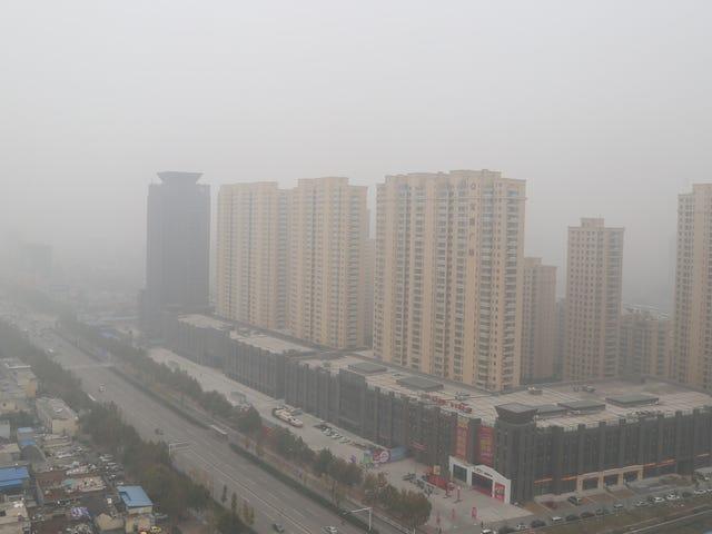 """Selv Kinas Statens Nyhedsagentur mener, at forureningen """"Doomsday"""" er kommet"""