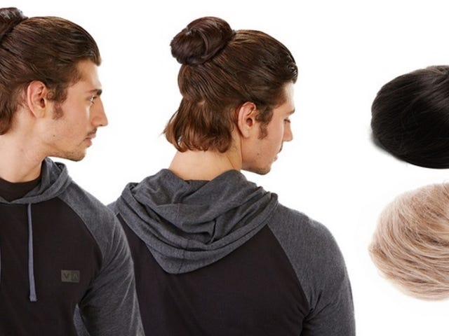Groupon Is Selling a Clip-In Manbun