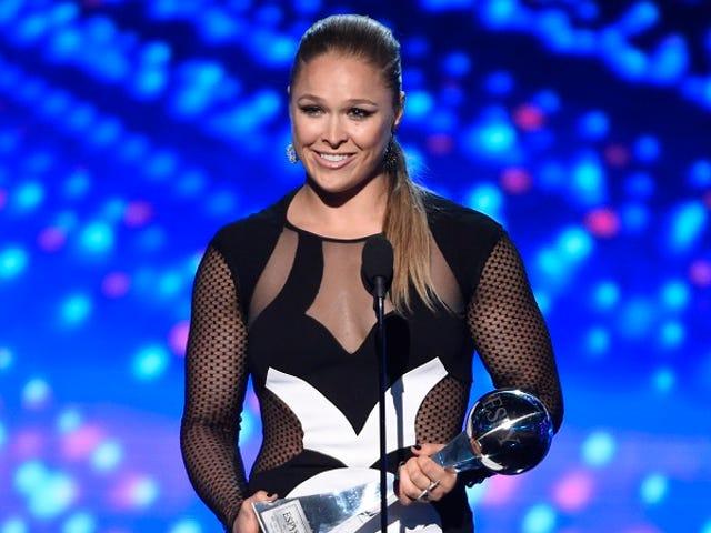 Ronda Rousey αισθάνεται τη Βέρνη