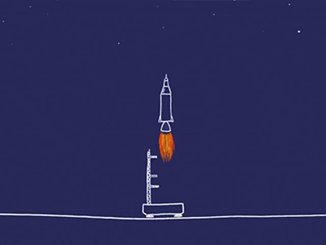Làm thế nào để đi vào không gian, giải thích theo cách đơn giản và hài hước nhất có thể