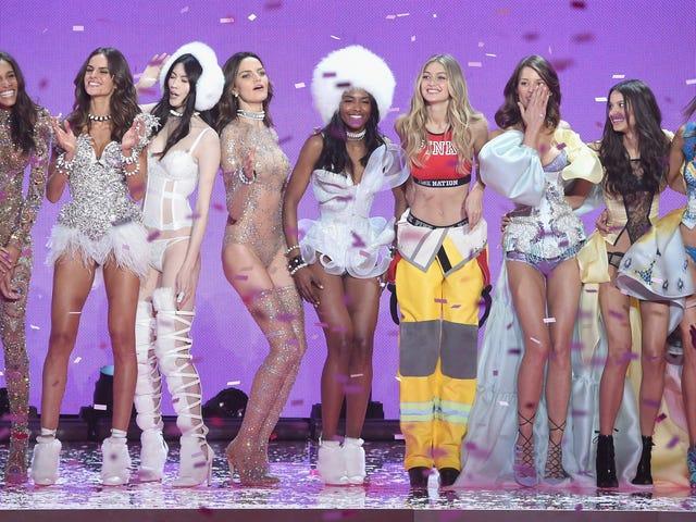 Astronauter, fyrverkeri, hippier og sommerfugler, Oh My !: Hvert utseende fra VS Fashion Show