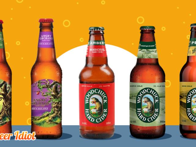 Smackdown Hard Cider: Woodchuck Vs.  Angry Orchard Vs.  Rasa Malu Anda