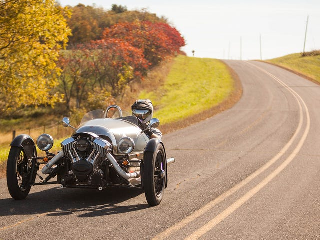 This Morgan 3 Wheeler Made Me Giggle But This Devil Road Glide Tried To Kill Me