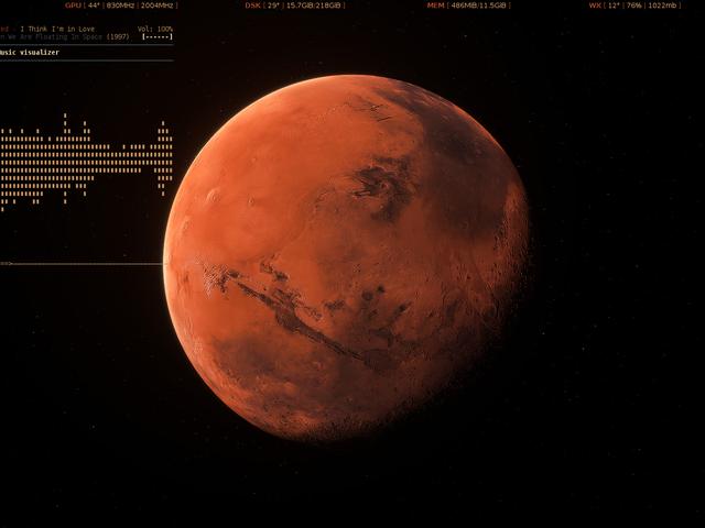 The Mars Approach Desktop