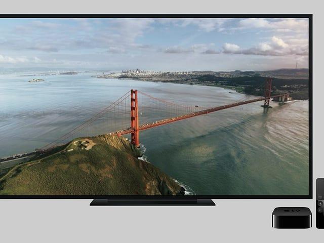 Obtenez les nouveaux écrans de veille Apple TV sur n'importe quel PC ou Mac sous Windows