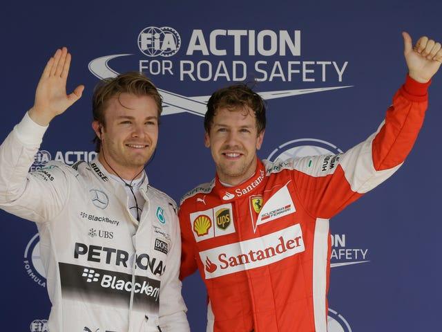 Ο F1 Champ Lewis Hamilton παραλείπει την Βραζιλία GP Top-Three Προκριματικά φωτογραφία, γιατί μπορεί