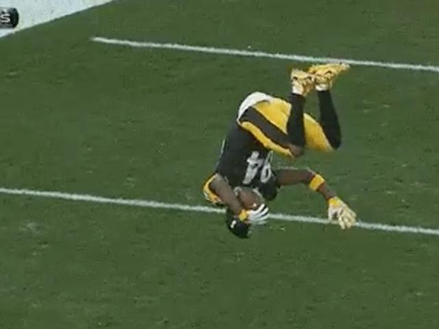 Questo Antonio Brown Flip è la migliore celebrazione del Touchdown