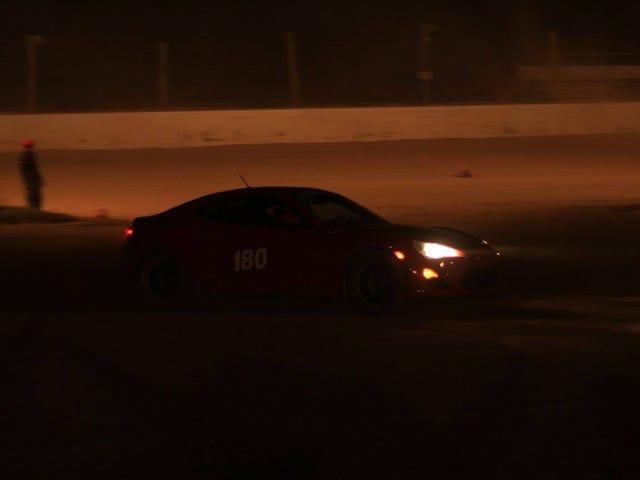 Night rallycross is fun