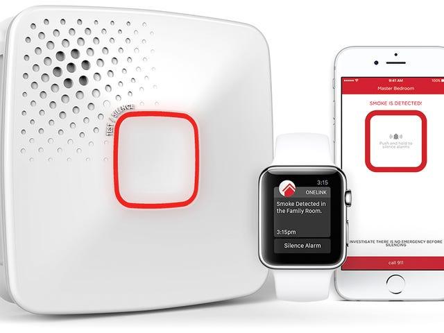 First Alert's New Smoke en Carbon Monoxide Detector waarschuwt uw iOS-apparaten van gevaar