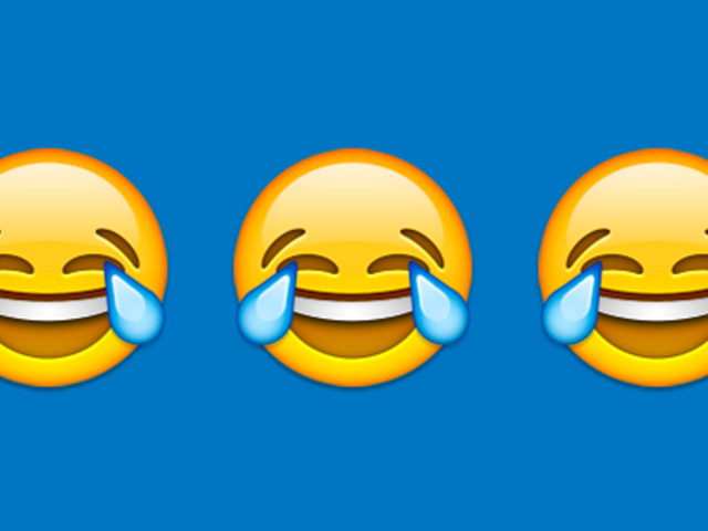 And Your 2015 Word of the Year Is...the Face With Tears of Joy Emoji?