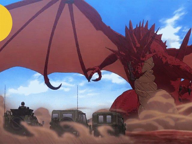 Hapon Sundalo Galugarin ang isang Fantasy World sa <i>GATE</i>