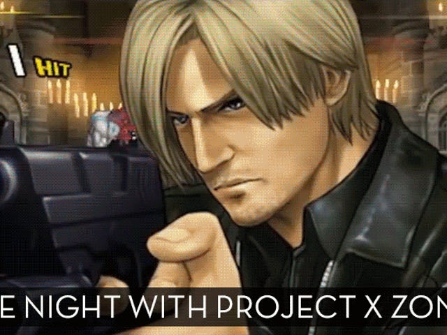 The Up-All-Night Stream Plays <i>Project X Zone 2 </i>[Stream Finished]