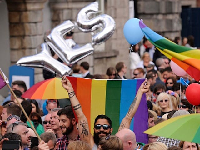 Ireland's Marriage Act Of 2015 Is Now Officially in Effect