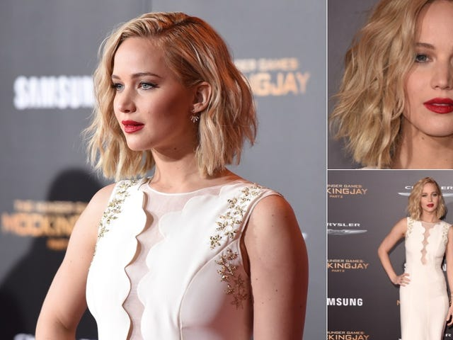 Nude Gowns, Fairies and Disaffection at the Hunger Games L.A. Premiere