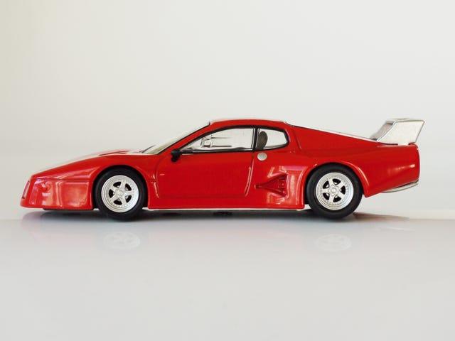 Kyosho Ferrari 8 1/64 # 17 - Project Prancing Horse # 17 - 1978 512 BB LM