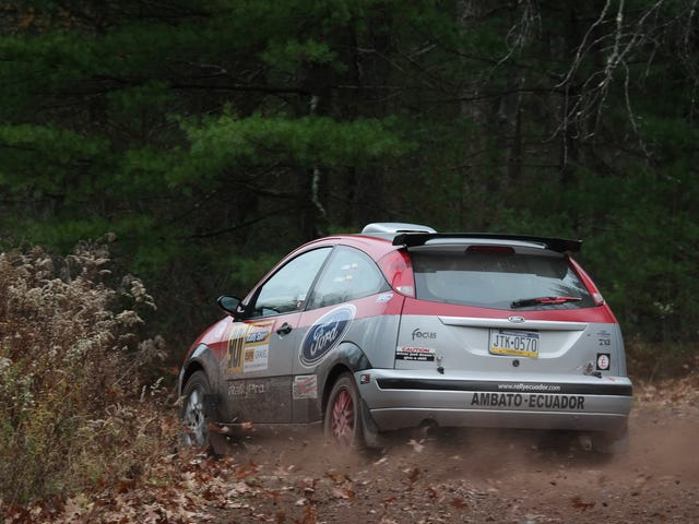 That Time I Accidentally Drove a Rally Stage