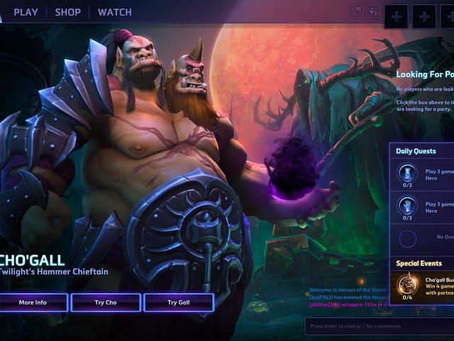 Tonton Kami Bumble Sekitar Dengan <i>Heroes Of The Storm's</i> Two-Player Watak Baru