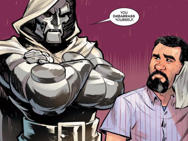 Uno de los mejores escritores de Marvel se despide con una historia hilarante de Doctor Doom