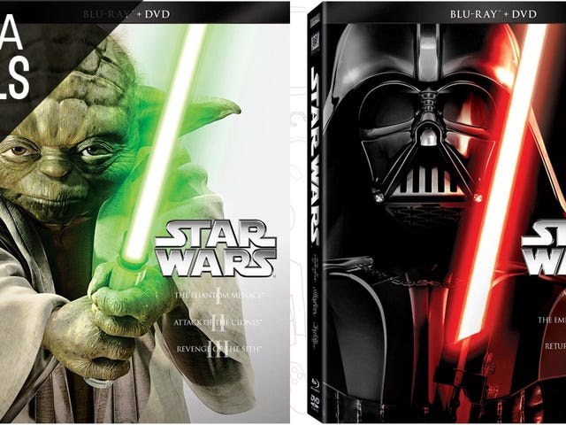 Pinakamahusay na Deal sa Ngayon: Star Wars Trilogies, Team America, at Higit pa