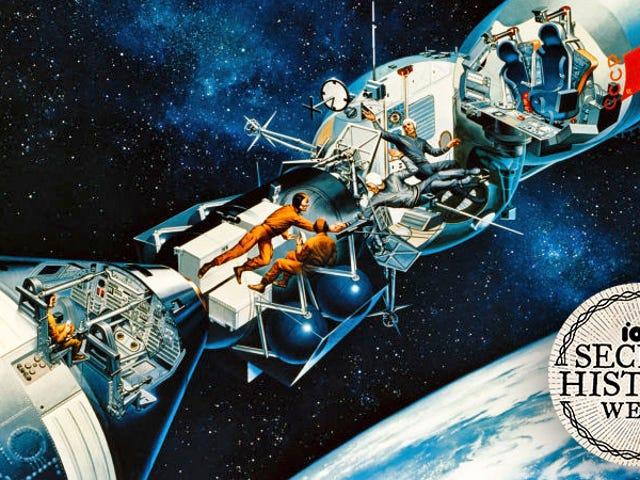 Ensimmäistä kertaa NASA telakoituna Neuvostoliiton avaruusaluksella Orbitissa