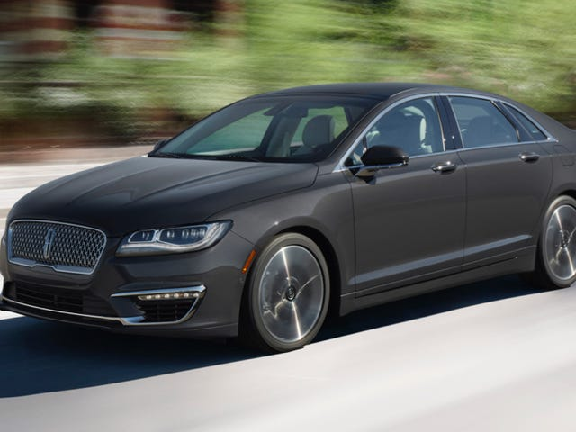 2017 Lincoln MKZ: This Is It
