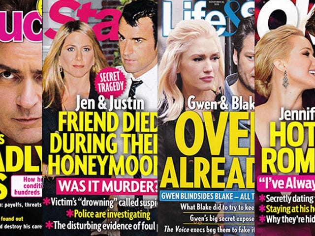 This Week In Tabloids: Jen and Justin's Friend May Have Been Murdered During Their Honeymoon?!