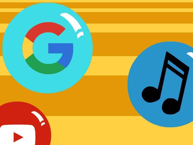 Ang Lahat ng Google Nakalilito, Intertwined Music Services Ipinaliwanag