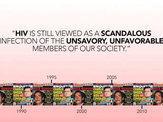 El mal estado de los medios sobre el estado del VIH de Charlie Sheen es un vergonzoso flashback de los 80