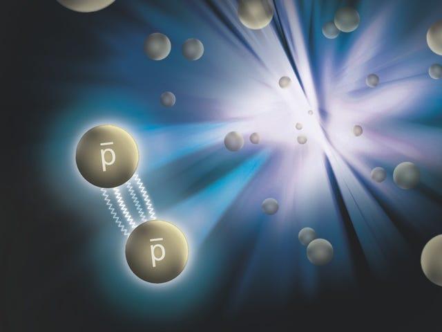 """물리학 자들은 처음으로 반물질의 """"강한 힘""""을 측정했습니다."""