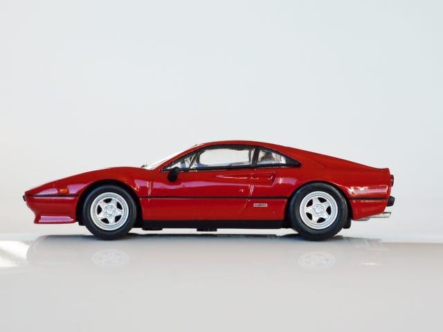 Kyosho Ferrari 8 1/64 # 20 - Έργο που αναζωογονεί το άλογο # 20 - 1982 Ferrari 308 GTB Quattrovalvole