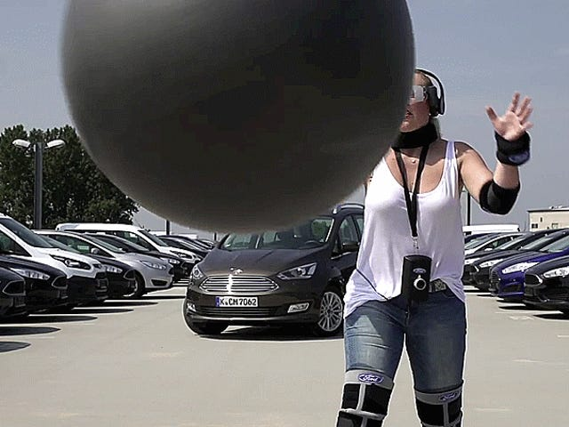 Ford Creates 'Drugged Driving Suit' That Makes It Difficult To Drive, Catch Exercise Balls