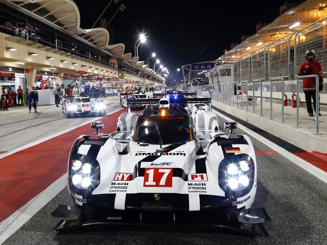 No. 17 Porsche 919 Limps Home To World Endurance Championship Title; Fans Can Finally Breathe