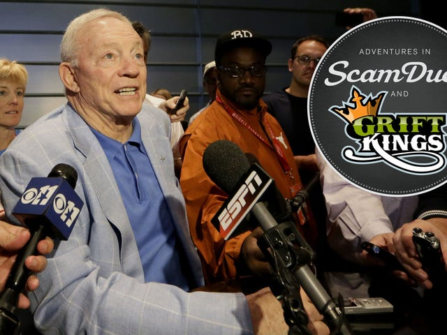 Tuntutan Aksi Kelas-Filed Against Daily Fantasy Partners Nama NBA, Jerry Jones, dan More (UPDATE)