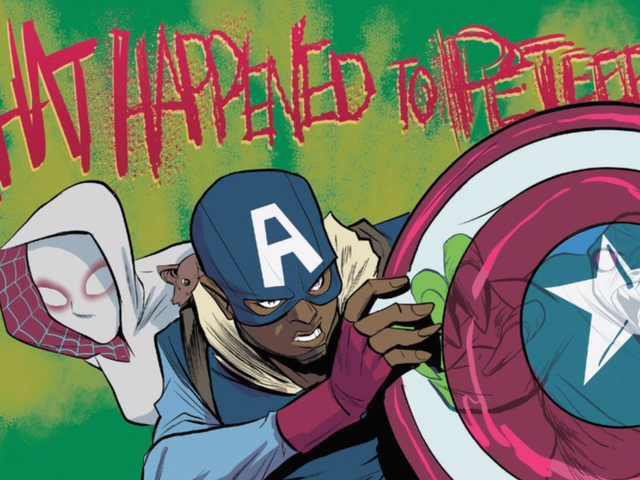 A Great New Captain America Is Showing Up in <em>Spider-Gwen</em>