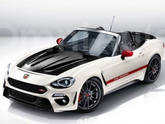 Leaving this here … '124 Abarth Spider'