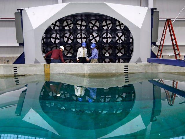 Este nuevo simulador oceánico pondrá a prueba la ingeniería marina a la destrucción