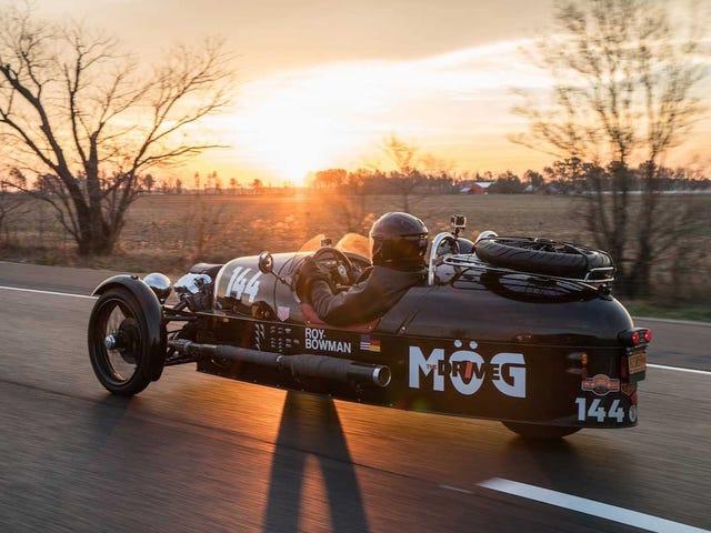 Roundup: The Morgan 3-Wheeler Cannonball Record Story So Far