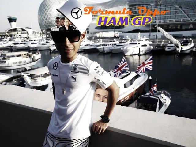 Formula Oppo: The HAM Grand Prix of Lewis Hamilton's Ego