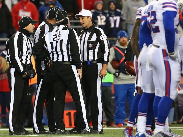 Was stimmt nicht mit NFL Officiating?