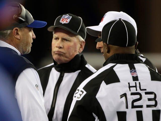 Rapport: Le mauvais appel à la fin du jeu Patriots-Bills était parce que le responsable avait oublié qu'il n'était pas à l'université