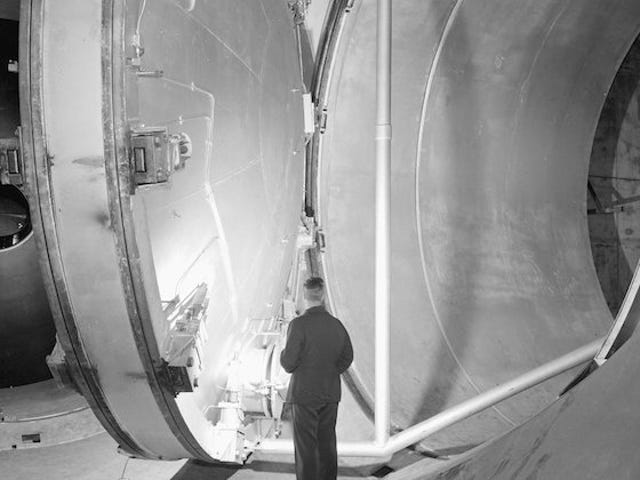 This is One Extremely Large, Impressive Wind Tunnel