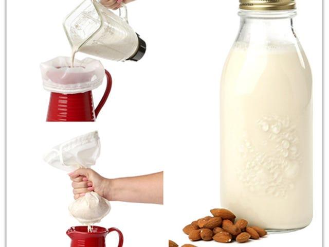 "$11.99 For Nut Milk Bag 2 Pack Large (12""x12"") & Medium (12""x9"")"