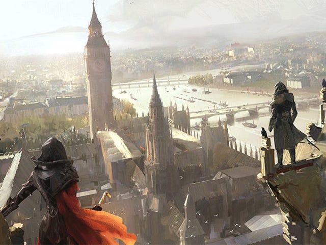 <i>Assassin's Creed Syndicate</i>的艺术
