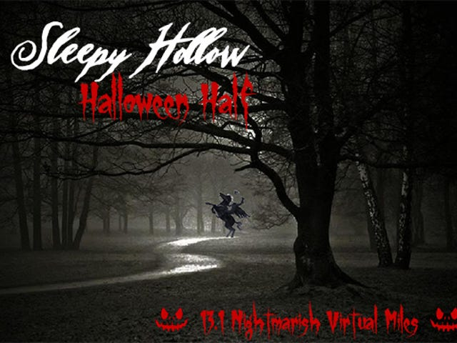 Run Off That Halloween Candy Ahead of Time With The Sleepy Hollow Virtual Half Marathon