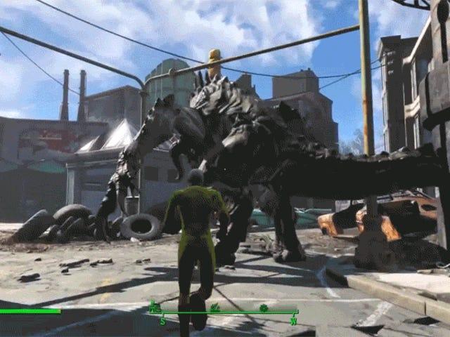 <i>One-Punch Man</i> Kahramanı <i>Fallout 4</i> Kendine Doğru Kalıyor