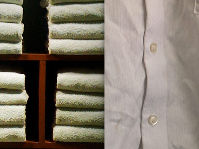 Remove Clothing Wrinkles with a Damp Towel