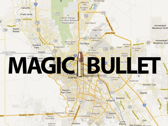 Magic Bullet Crosses Mexican Border to Hit Woman In Texas