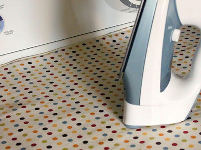 DIY Magnetic Ironing Mat