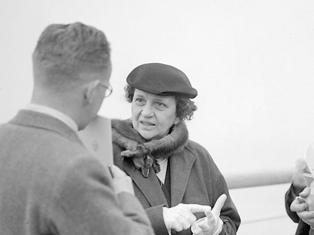 Sunday Sign-Off: Three Cheers for Frances Perkins